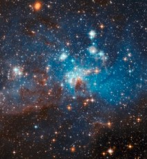 A stellar nursery in the Large Magellanic Cloud. Photo: NASA / Space Telescope Science Institute