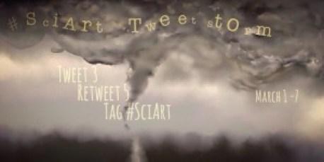 Sciart Tweetstorm