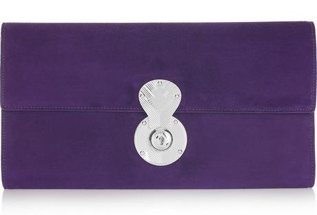 Bag Whore: Ralph Lauren Hand-Sewn Clutch
