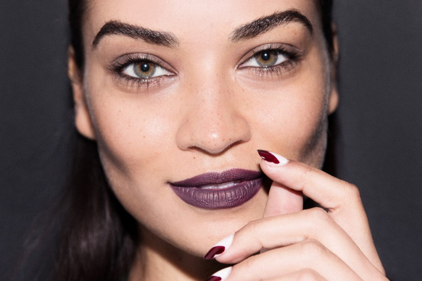 The Holiday Makeup Look: Vampy Lips + Nails
