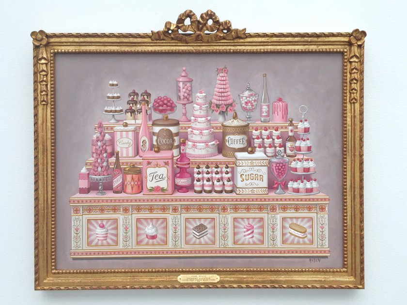 mark ryden whipped cream ballet painting candy