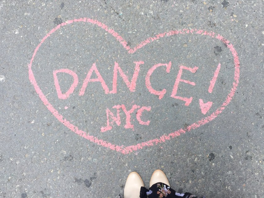 Dance NYC grafitti