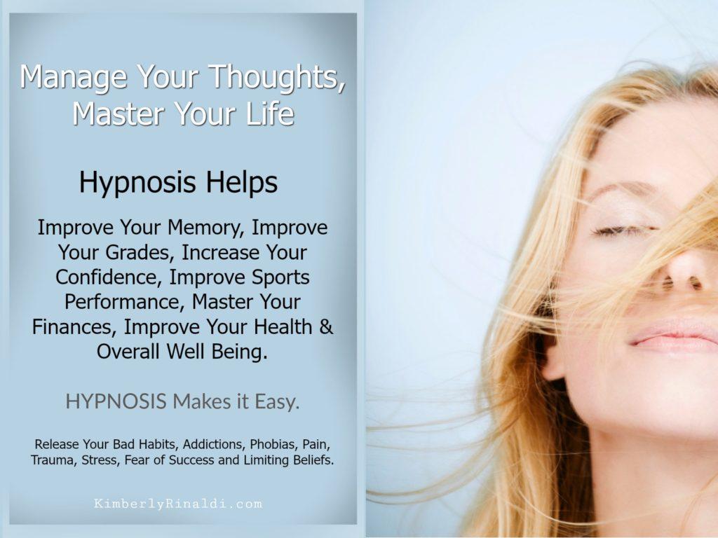 hypnosis, life coaching, weight loss, lessons in joyful living, health matters, Kimberly Rinaldi