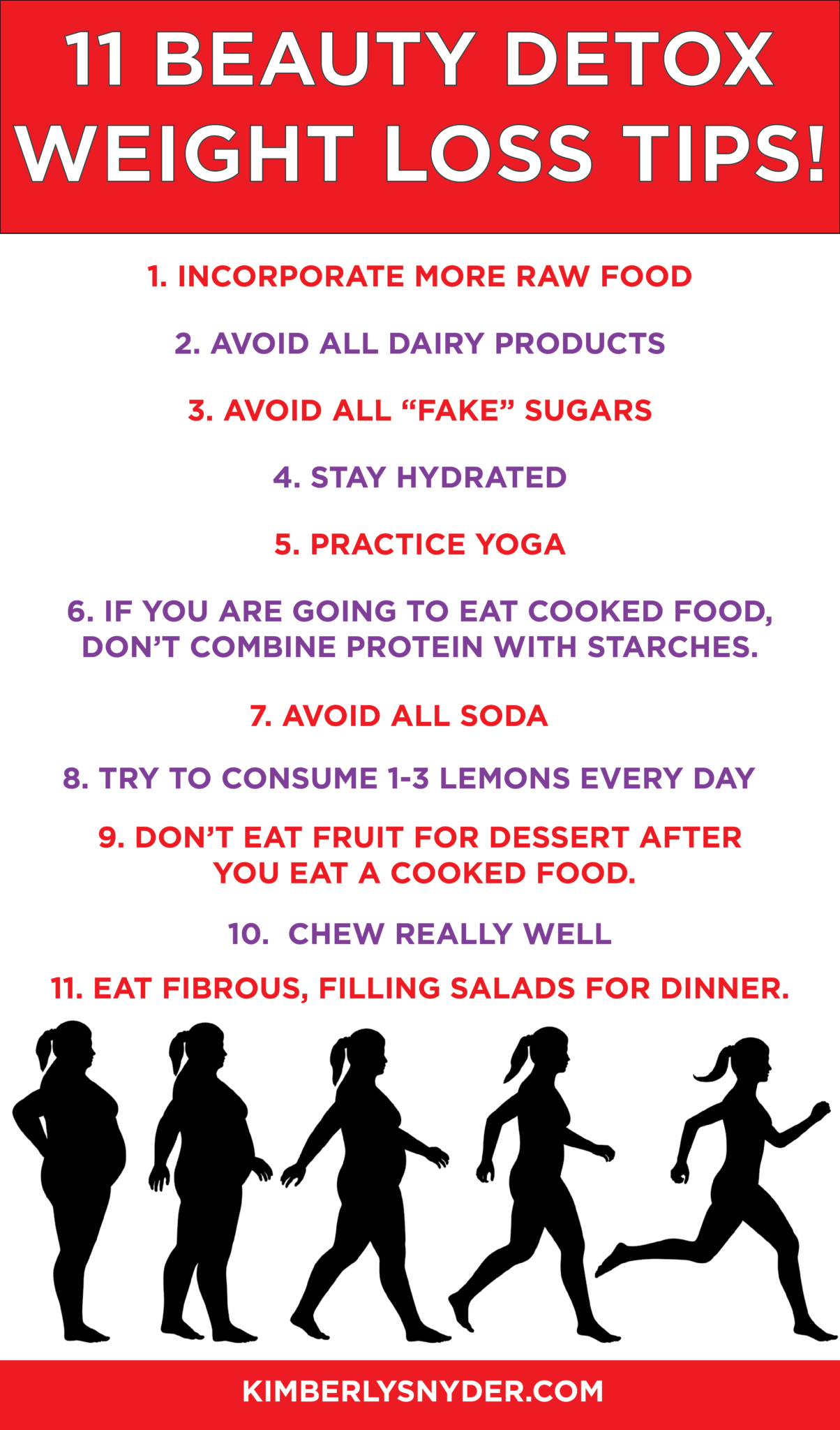 11 Beauty Detox Weight Loss Tips Kimberly Snyder