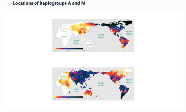 23 and Me Haplogroup Map