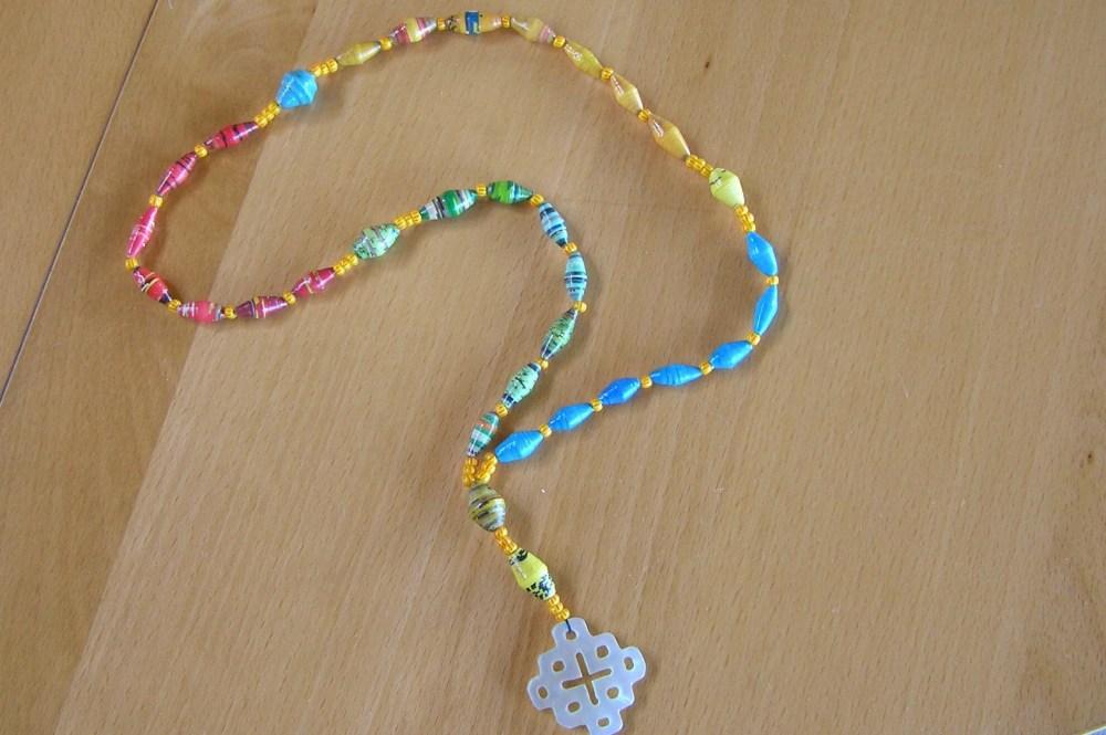 Paper Prayer Beads (3/4)