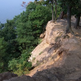 At Elk Neck You Can Explore Cliffs and Beaches in the Same Day