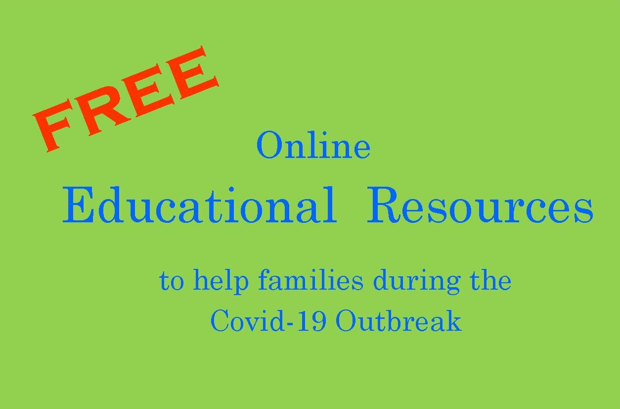 Free Online Resources to Help Families During COVID19 Outbreak