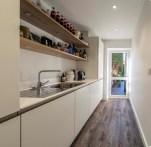 Added modern kitchen space