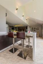 Open plan kitchen living dining