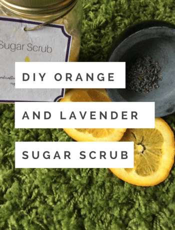 Orange Lavender Sugar Scrub