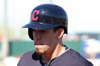 Cleveland Indians rookie Bradley Zimmer