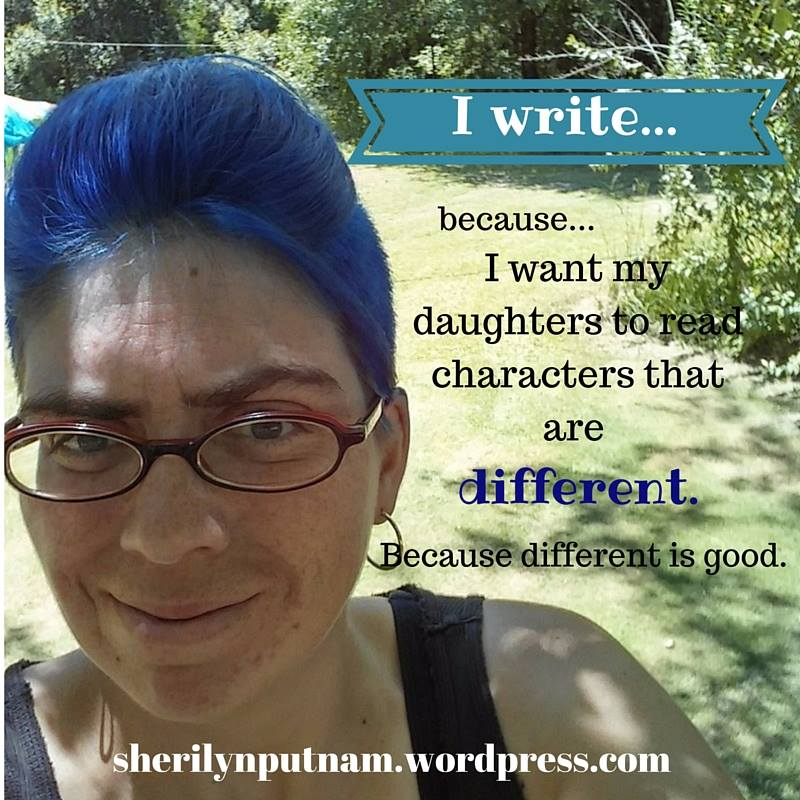 TAA - I write because Sheri