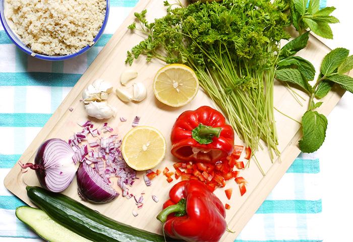 Quinoa Tabbouleh Recipe - Kim D'Eon