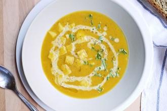Curried Pumpkin Soup Recipe | Kim D'Eon - Holistic Nutrionist