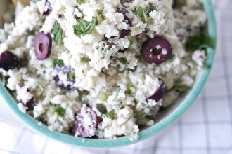 Greek Cauliflower Rice