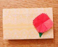 折り紙でカーネーションは簡単!幼稚園の子どもでも作れるよ!