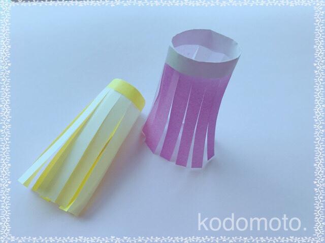 七夕飾りは折り紙で♪簡単で可愛い吹き流しの作り方☆