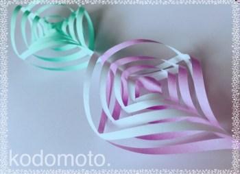 七夕飾りは折り紙で♪おしゃれで可愛い七夕飾りの作り方☆