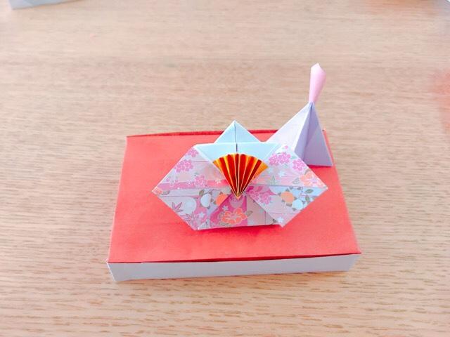 ひな祭りの折り紙☆お雛様の台座も折り紙で作ろう!