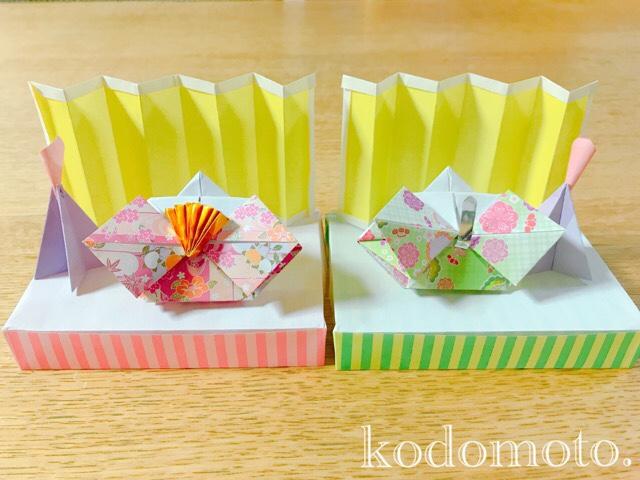 お雛様の折り紙 作り方まとめ!簡単だから子供でも作れるよ☆