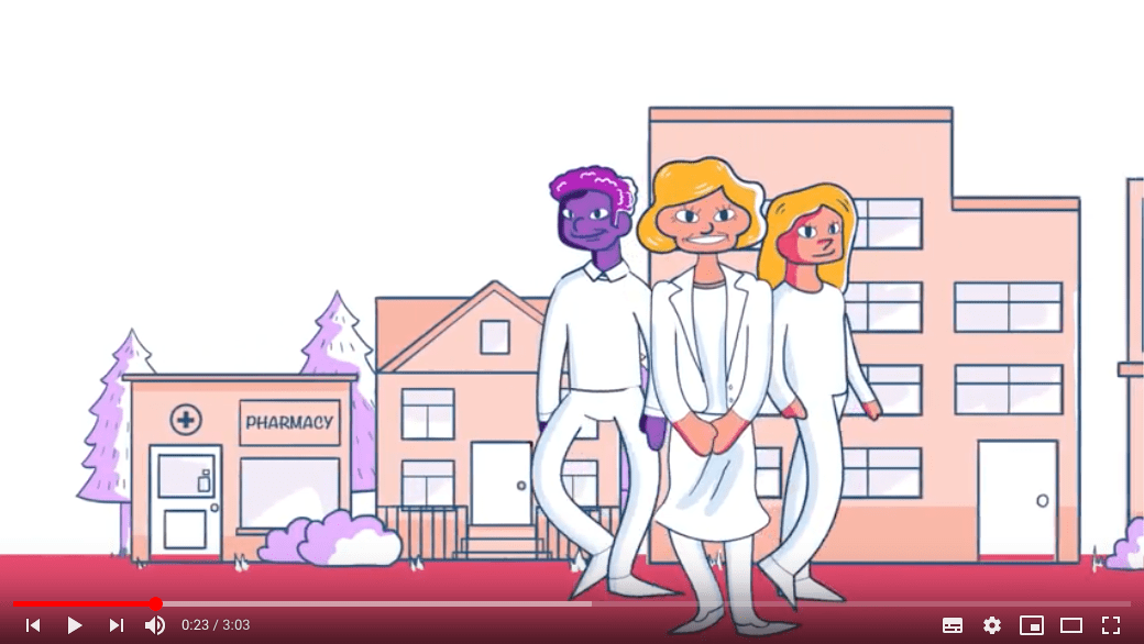 circle of care explainer animation