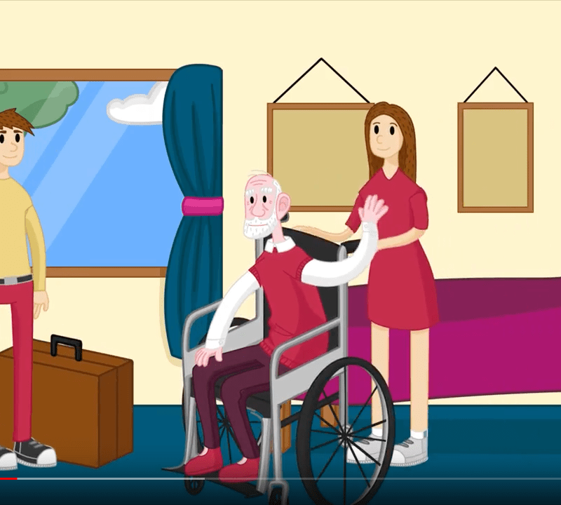 Frank's story Healthcare services changes explainer animation