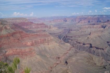 Ochtendgloren over de canyon