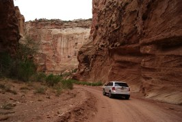 Off-road in de canyon