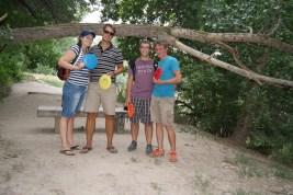 Kim, Daan, Marcus & Alex