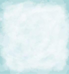 aqua watercolor rectangle background