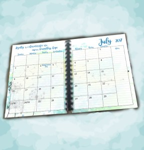 month planner category image watercolor