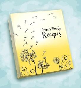 Annie Recipe Album image Dandelion Dream in golden yellow