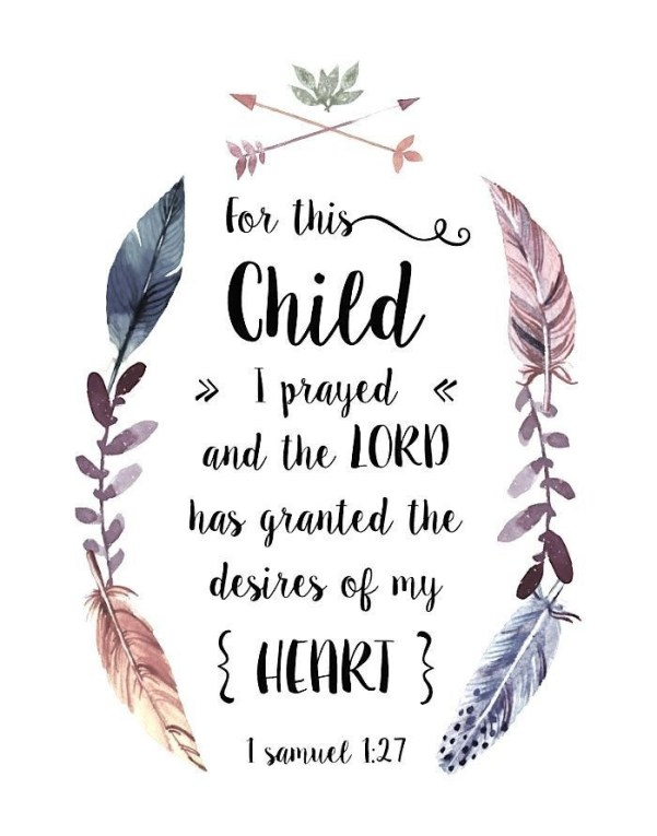 dreamcatcher baby bible verse