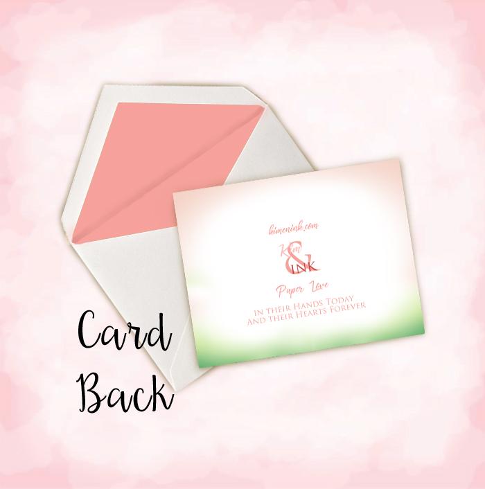 pink flamingo thank you notes kim ink