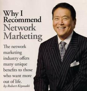 Robert Kiyosaki recommends Network Marketing, this system guides your through easily.