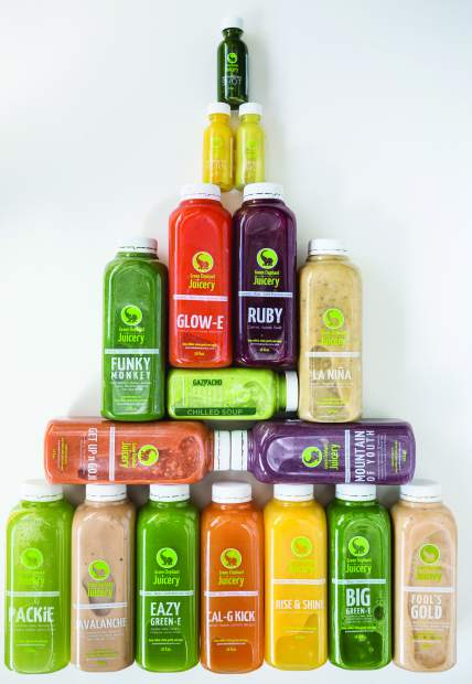 Green Elephant offers a menagerie of delectable grab-and-go options, such as fresh, all organic cold-pressed juices, smoothies, and one-ounce shooters in bottle form, ready for your on-the-move lifestyle