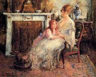 Verschaffelet Edward Mother And Daughter