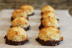 chocolate-dipped-macaroons-recipe-christmas-cookies