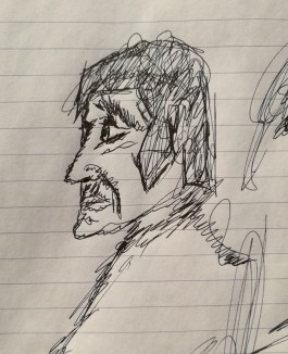 Sketching faces 2