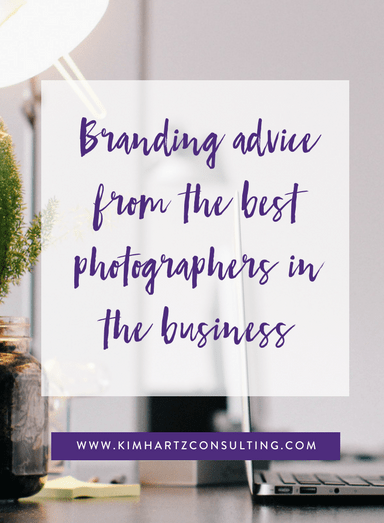 Branding advice from the best photographers in the business