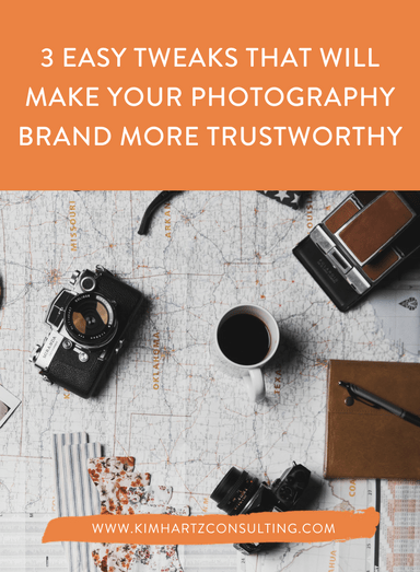 3 easy tweaks that will make your photography brand more trustworthy