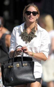 Olivia Palermo spends the day out and about in SoHo