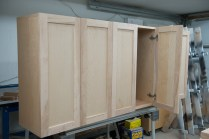 Door install on base cabinets