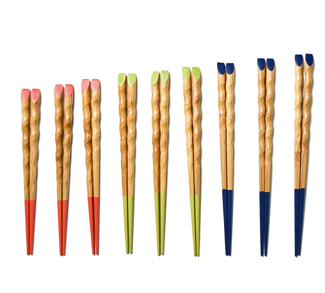 きみの箸 竹箸 三色三膳セット