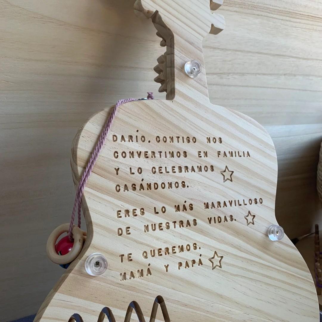 grabado de madera
