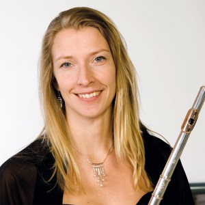Flutist Erica Nygård