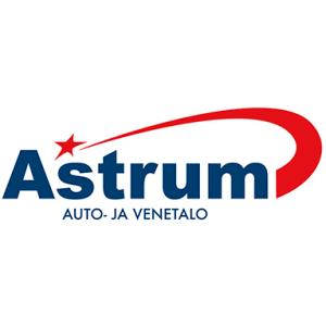 Astrum-auto ja venetalo logo