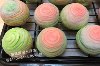 中秋月餅 | 彩虹酥做法之千層 芋頭酥 ~ 斜捲法,免鬆弛~年節送禮就送繽紛的千層彩紅酥手工禮盒