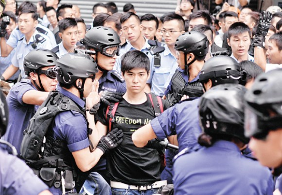 Student leader Lester Shum arrested in HK protests